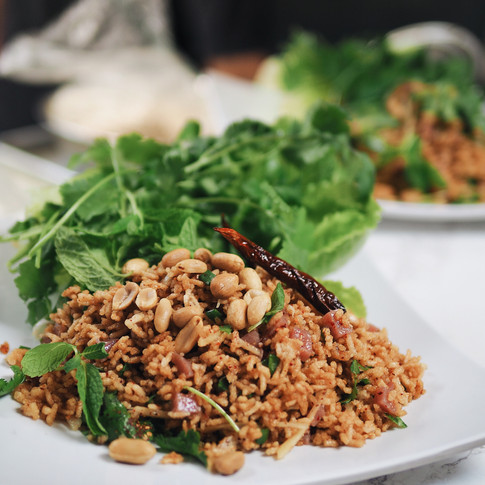 Crispy Rice Salad