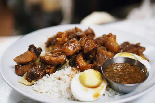 Pork Hock over Rice
