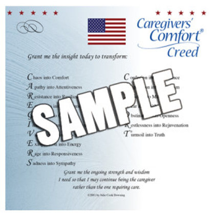 Caregivers' Creed (Flag)