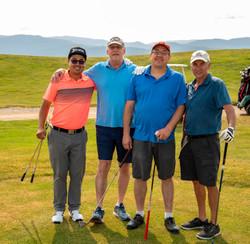 Toast of Taos Golf Tornament Winnint 4-S