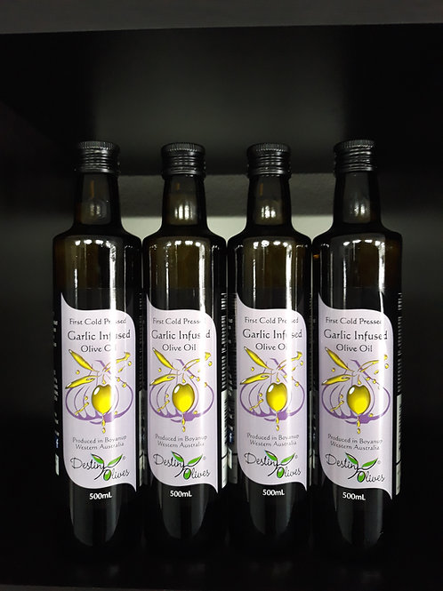 Destiny Farms Garlic Infused Olive Oil
