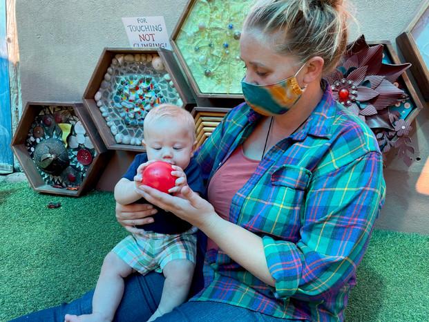 Baby & momma sensory wall.jpg