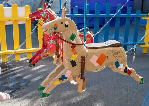 Tio Vivo 2017 Horses Decorated by Local