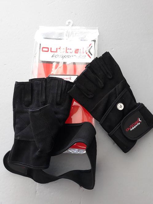 Black Bodybuilder Gloves