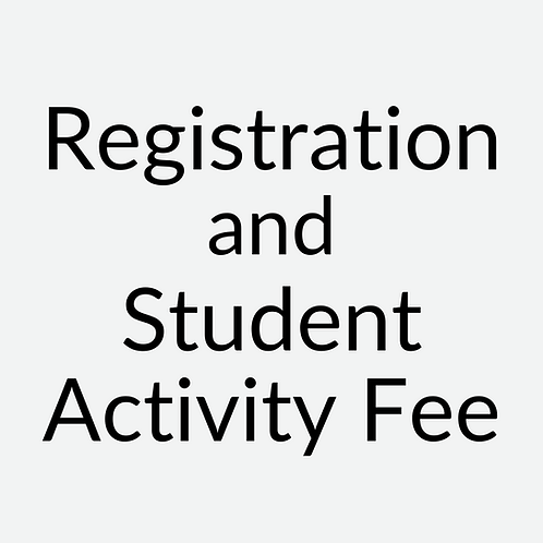 Registration & Student Activity Fee