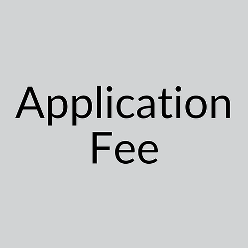 Application Fee $20