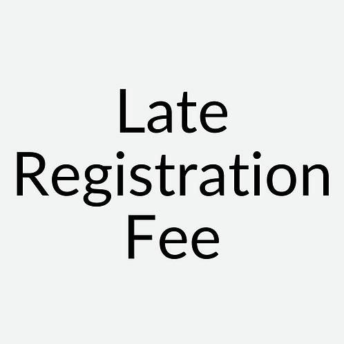 Late Registration Fee ($100 Per Course)