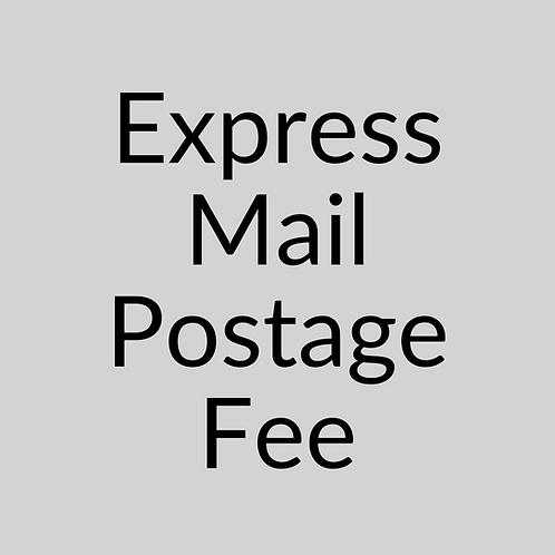 Express Mail Postage Fee