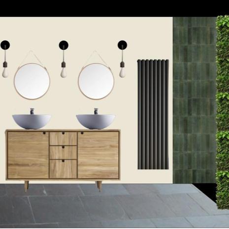 Bathroom mood board concept