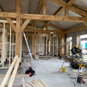 Barn conversion space and layout planning