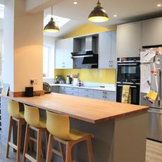 Rear extension & kitchen design