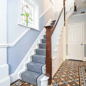 Hall, stairs and landing design