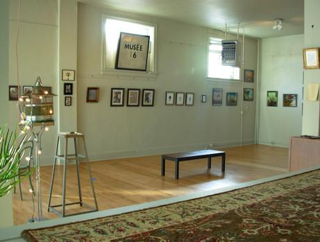 Diorama of an Art Exhibition
