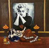 Aziz Anzabi-Marilyn Monroe Captive Qajar