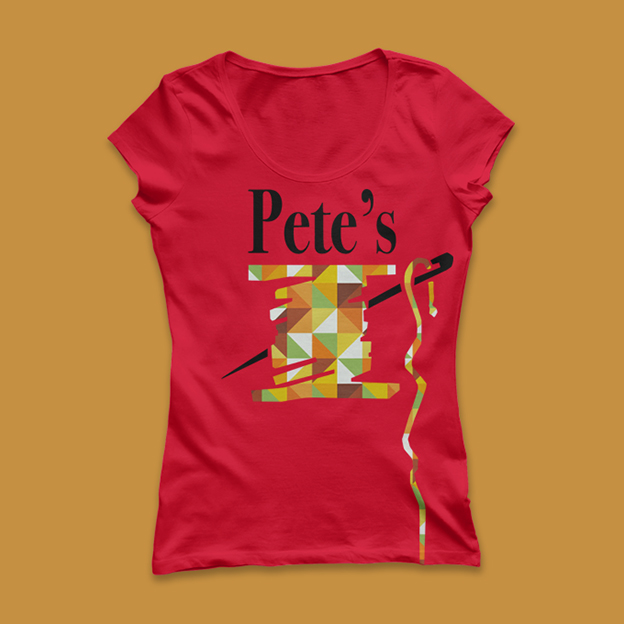 Pete's tshirt womans cut 2