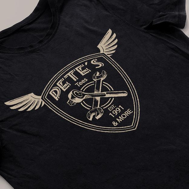 Pete's tshirt detail 4