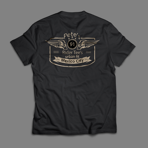 Pete's tshirt back 2