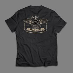 Pete's tshirt back 2