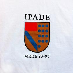 Pete's tshirt school IPADE detail