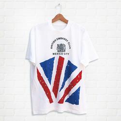 Pete's tshirt British Embassy