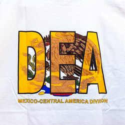 Pete's tshirt DEA detail
