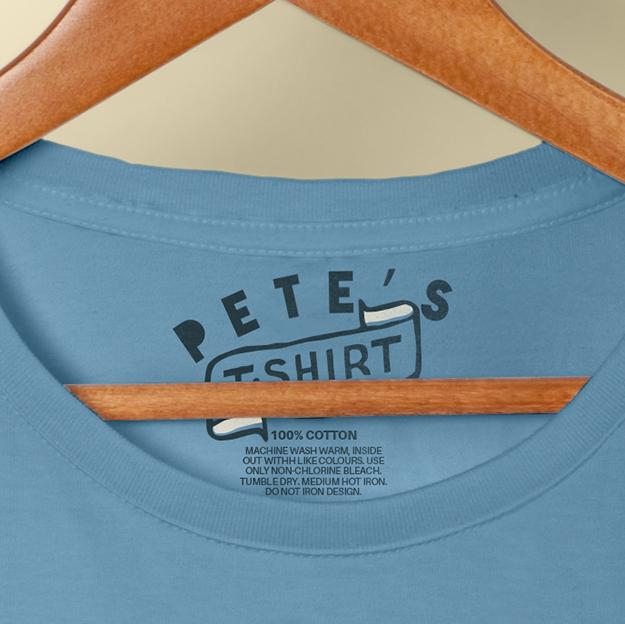 Pete's tshirt detail 1