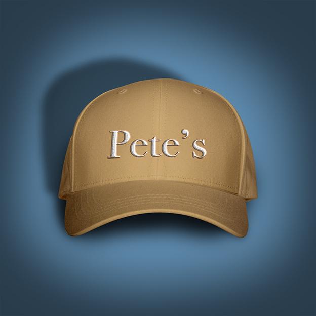 Pete's caps