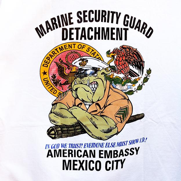 Pete's tshirt US Marines
