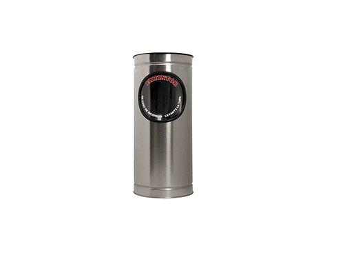 Porta Extintor Cilíndrico CO2 2.5 kg
