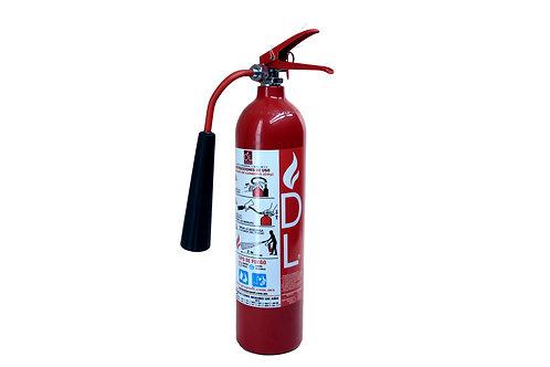 Extintor CO2 2.5 kg