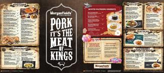 Morganfield's Menu
