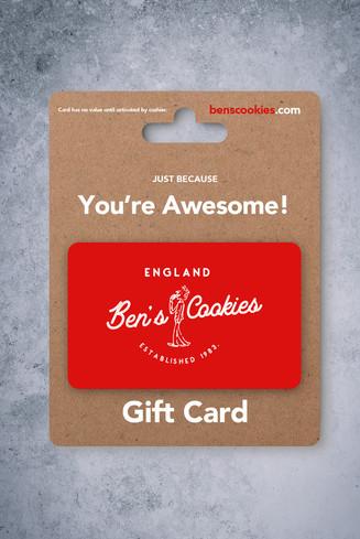 Ben's Cookies Rebranding