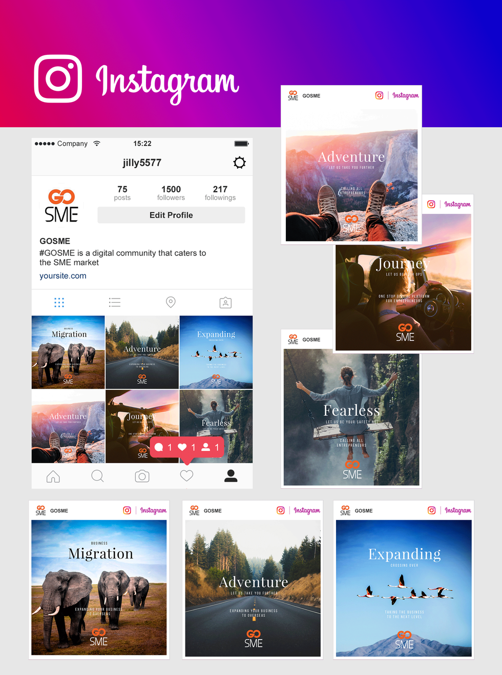 GOSME - Instagram Post