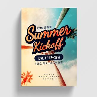 Summer Kickoff Poster