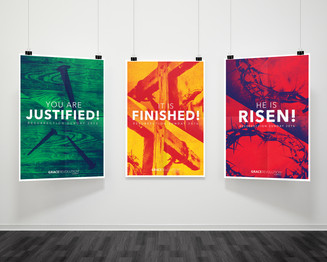 Resurrection Posters Campaign