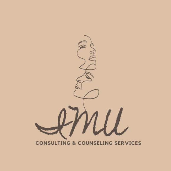 Minimal Mono Beauty Line Logo with Faces