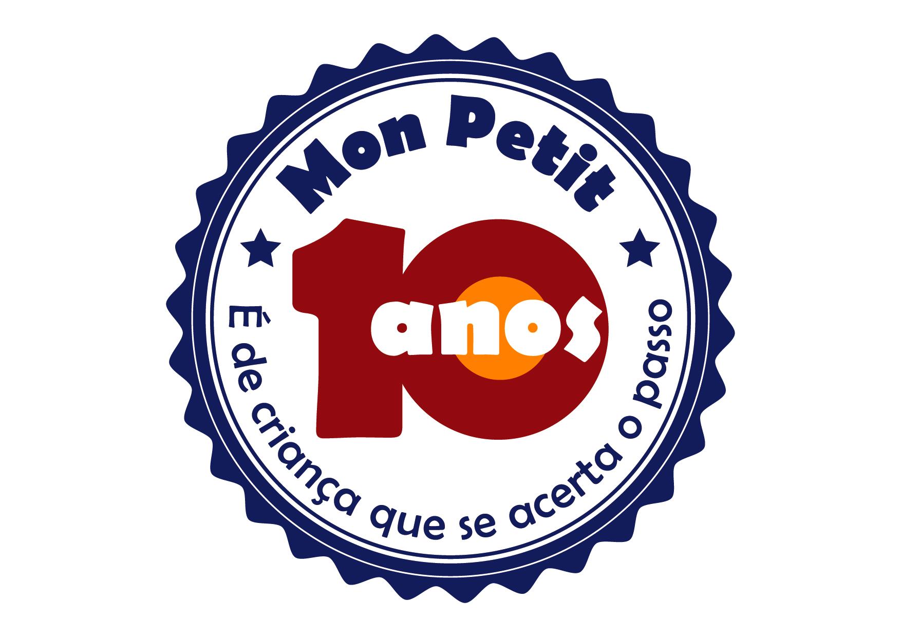 Selo 10 Anos Mon Petit