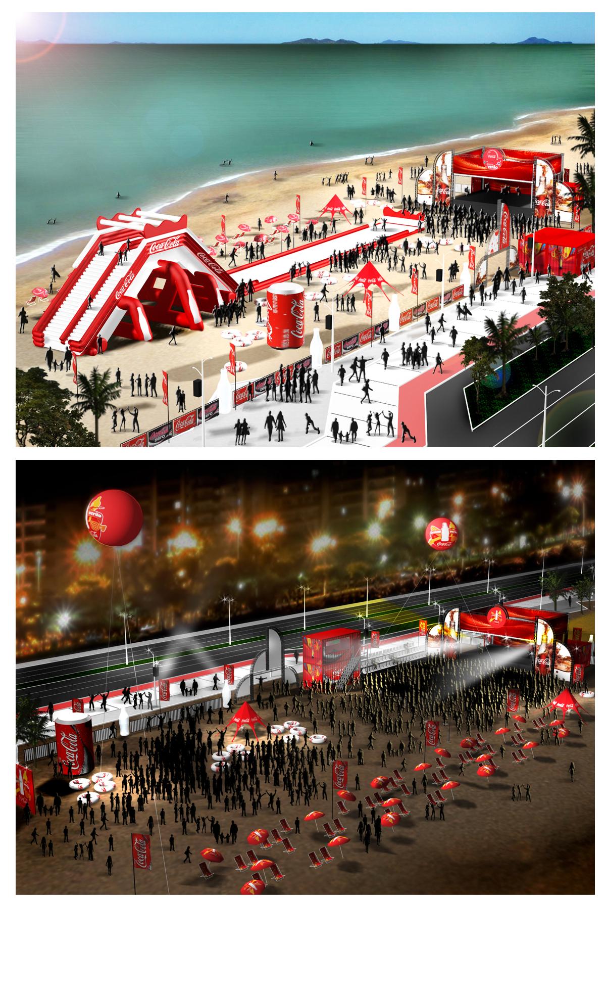 Arena Coca Cola Verão 2012