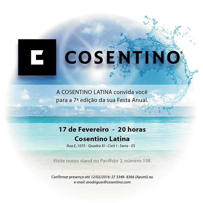 Cosentino Latina - Festa Anual 2016