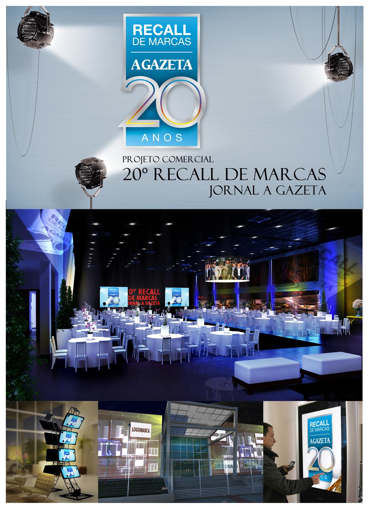 Recall de Marcas A Gazeta 2012