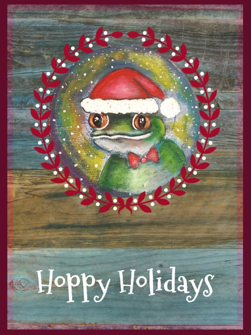 Set of 10 Hoppy Holidays Cards