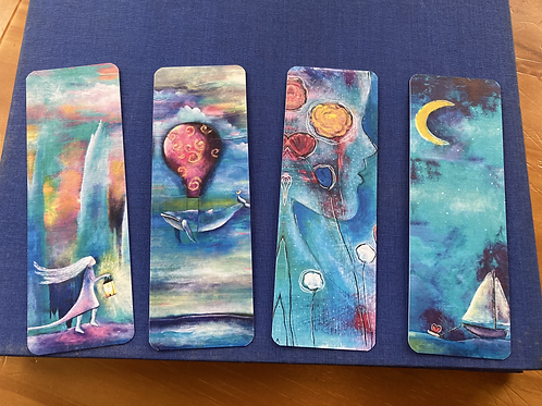 Set of 4 Bookmarks