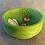 Thumbnail: Anni & John Collab - Small Hand Painted wood HoneyBee Bowl