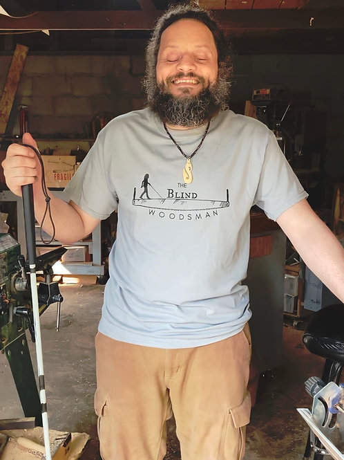 The Blind Woodsman T-Shirt (Gravel Gray)