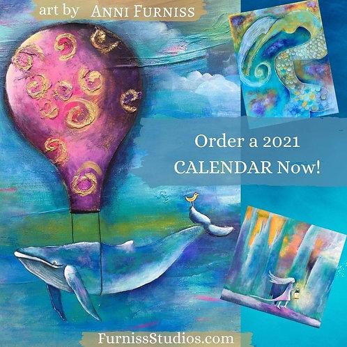 2021 Art Calendar - clearance