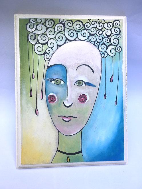 """Normal is Boring"" Original Painting"