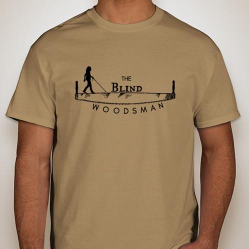 The Blind Woodsman T-Shirt (Old Gold)