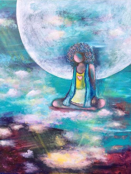 "Original Acrylic Painting - ""In the Stillness"""