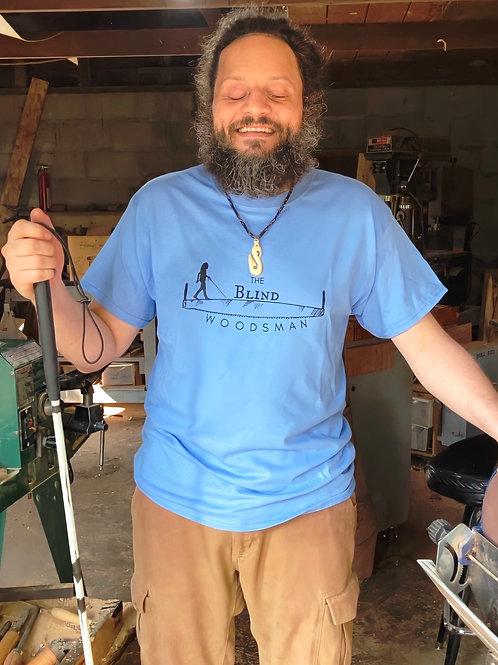 The Blind Woodsman T-Shirt (Carolina Blue)