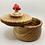Thumbnail: Anni & John Collab - Ash wood Salt Cellar with mushroom knob